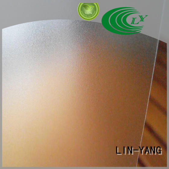 LIN-YANG Brand hotel dfferent images ceiliing pvc films for sale restaurant