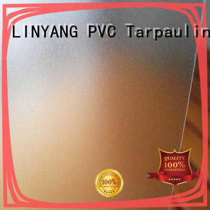 LINYANG waterproof Translucent PVC Film manufacturer for plastic tablecloth