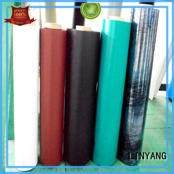 LINYANG finely ground Inflatable Toys PVC Film customized for swim ring