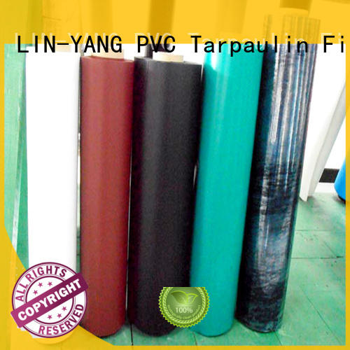 low cost best price multiple extrusion pvc plastic film LIN-YANG manufacture