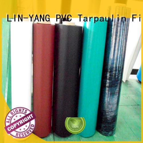 Hot pvc plastic film multiple extrusion LIN-YANG Brand