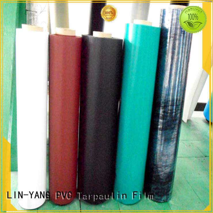 LIN-YANG finely ground inflatable pvc film customized for aquatic park