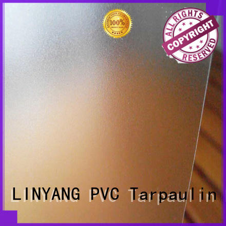 LINYANG widely used pvc film eco friendly from China for raincoat