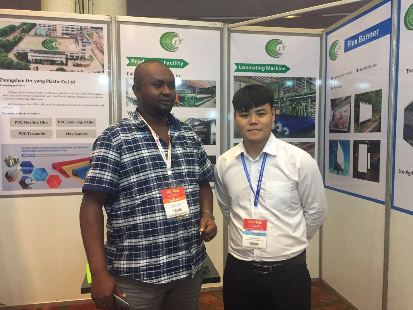 LIN-YANG-We Attended China Trade Fair 2019 Nigeria , Turkey , Poland -1