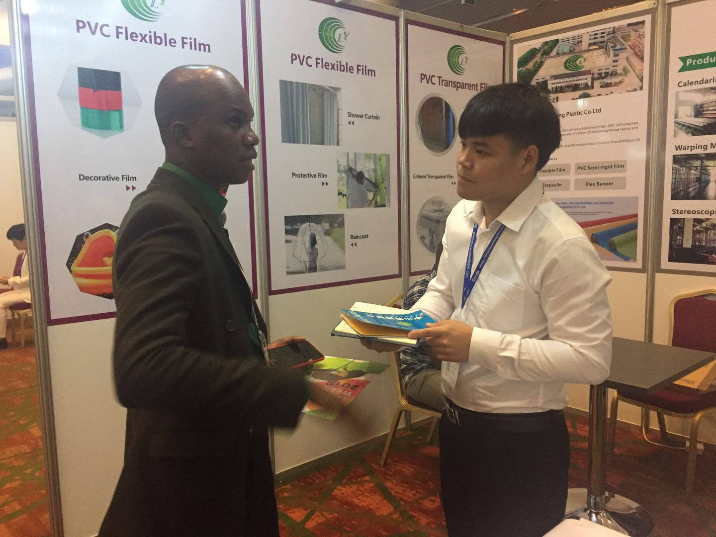 LIN-YANG-We Attended China Trade Fair 2019 Nigeria , Turkey , Poland