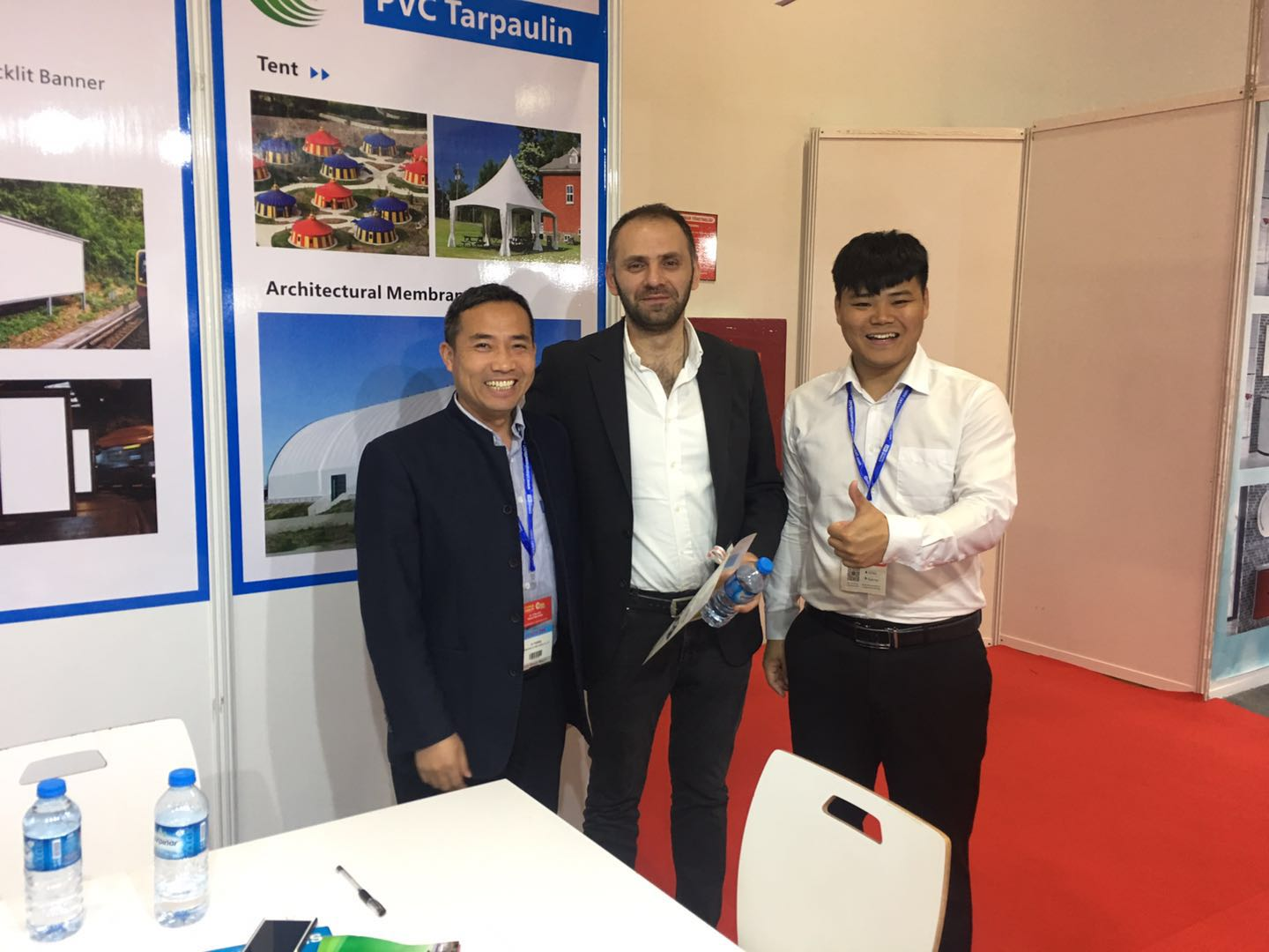 LIN-YANG-We Attended China Trade Fair 2019 Nigeria , Turkey , Poland -4
