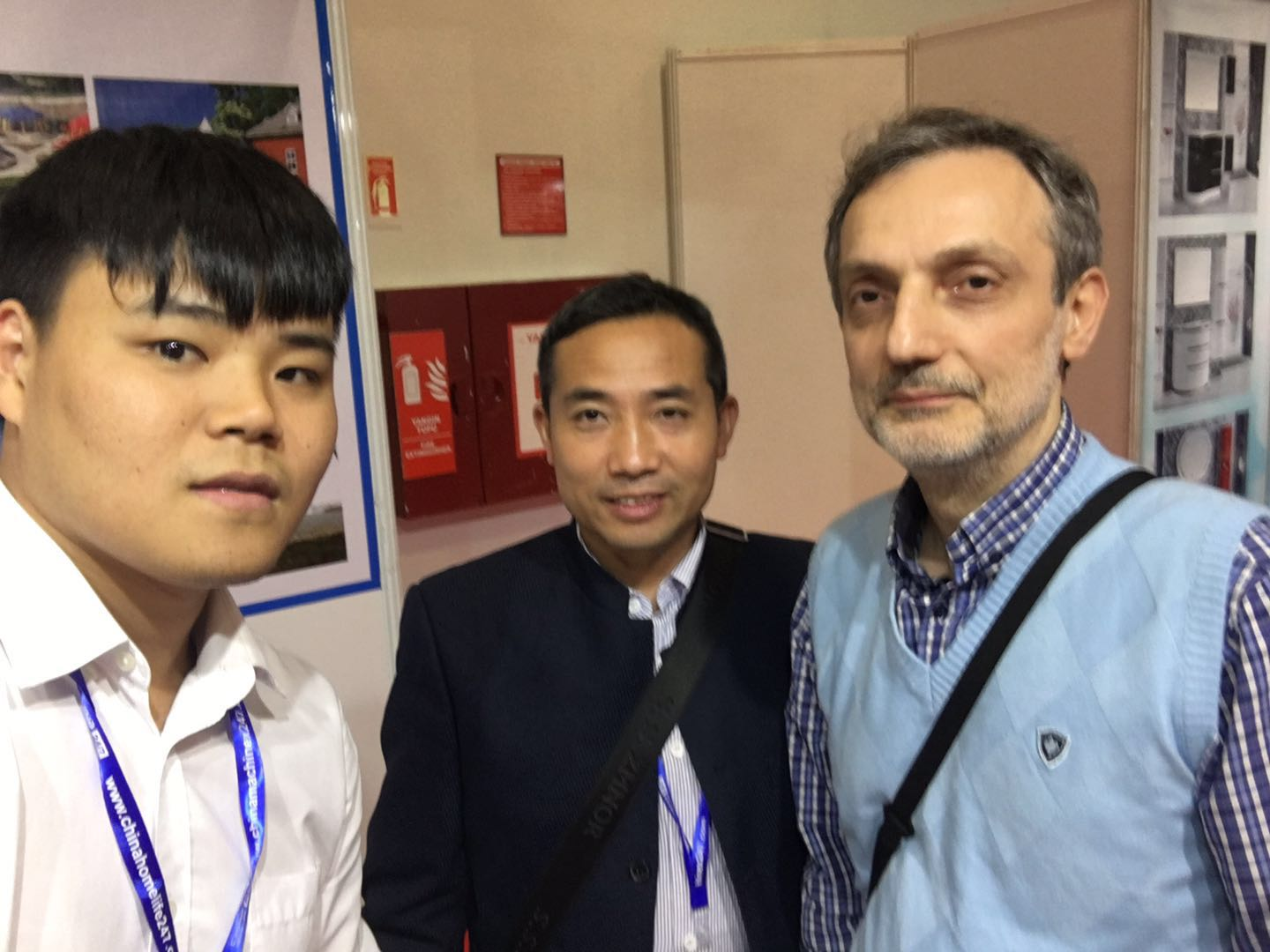LIN-YANG-We Attended China Trade Fair 2019 Nigeria , Turkey , Poland -6