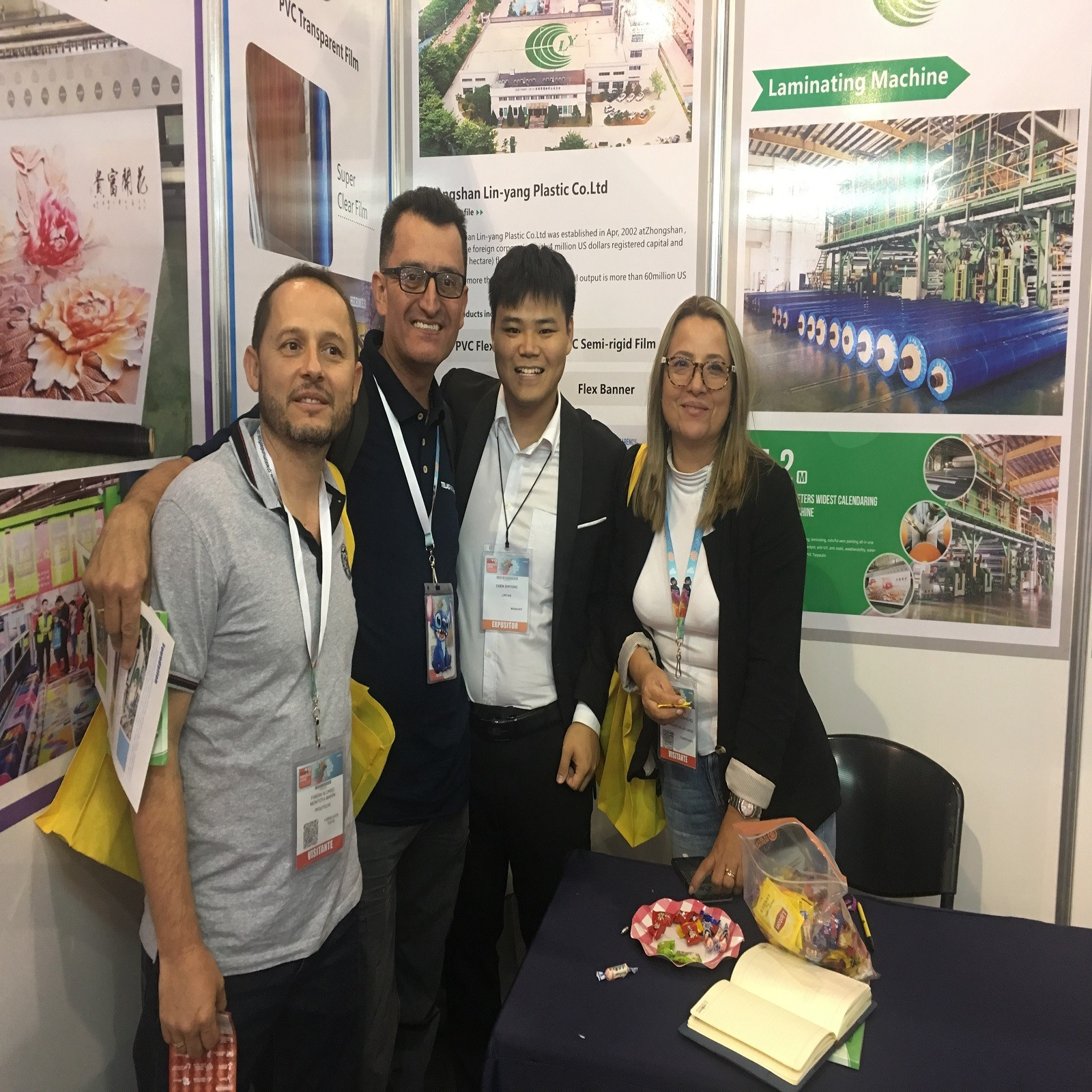 LIN-YANG-We attended fair fespa mexico 2019 with our new flex banner and pvc tarpaulin-1