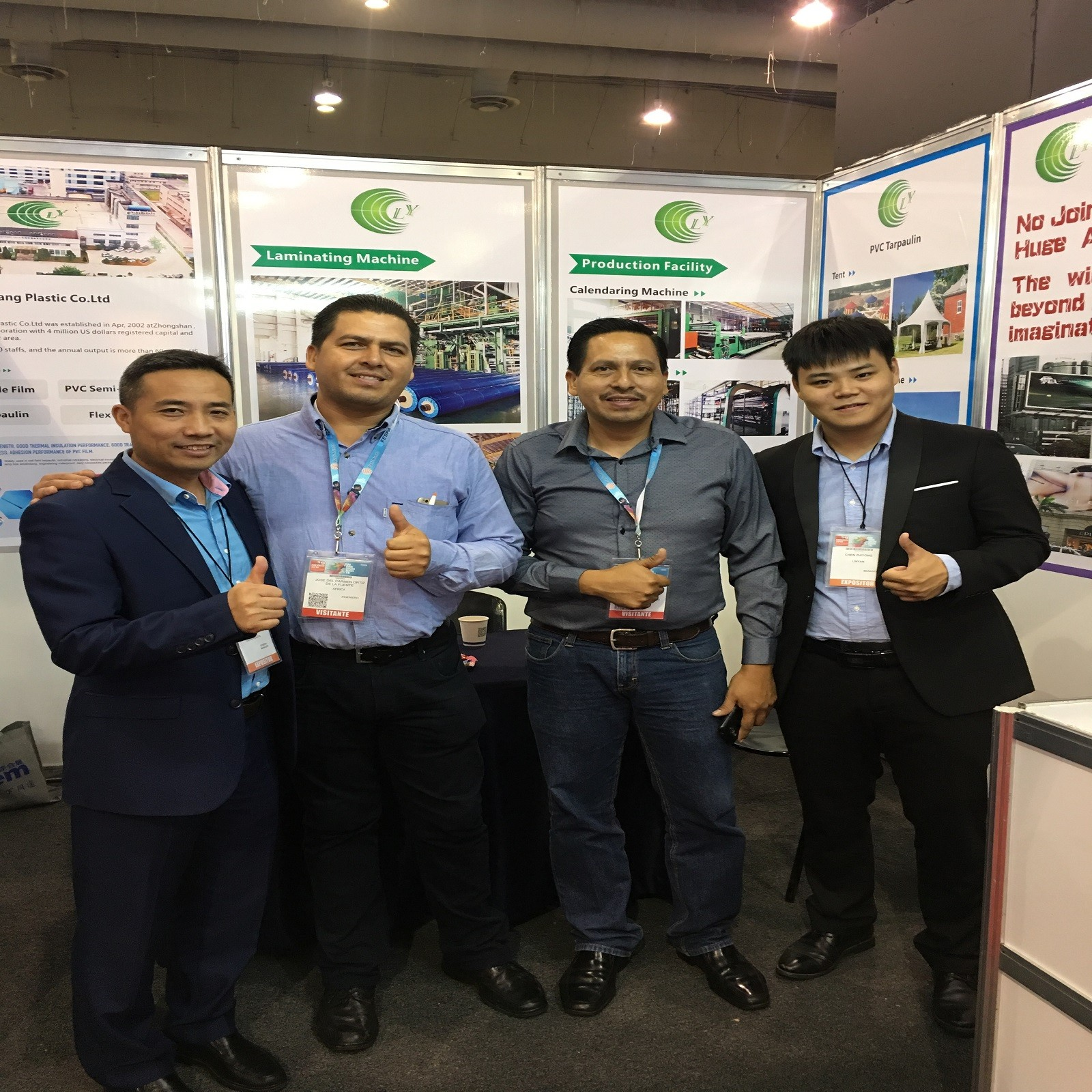 LIN-YANG-We attended fair fespa mexico 2019 with our new flex banner and pvc tarpaulin-4