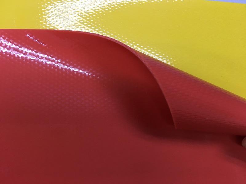Colorful PVC Tarpaulin Fabric for Inflatable Toys / Boats Application