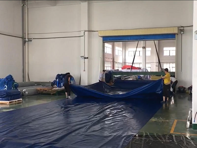 Folding PVC Tarpaulin Fabric
