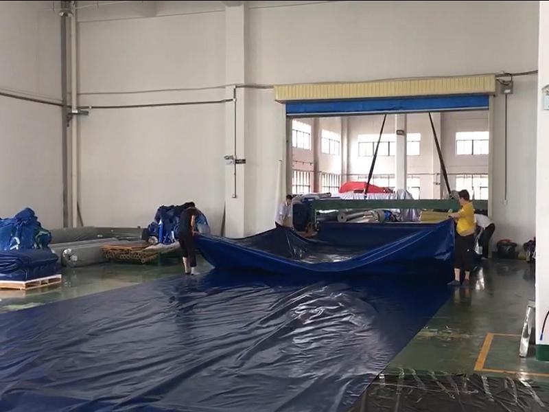 Folding PVC Tarpaulin Fabric