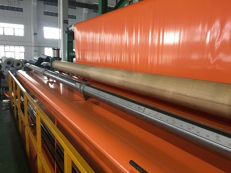 PVC Coated / Laminated Tarpaulin for Explosion suppression waterbag