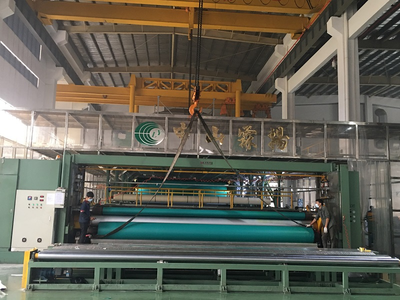 news-Super wide 72m calendering and laminating unit produces larger and wider PVC tarpaulin-LINYANG--1