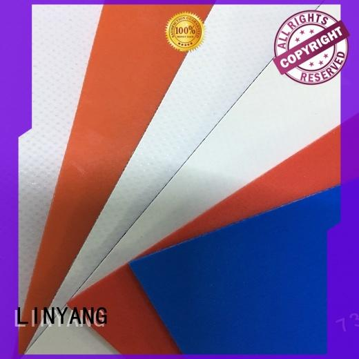 LINYANG the newest pvc coated fabric manufacturer for sale