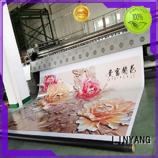 LINYANG flex banner design manufacturer for advertise