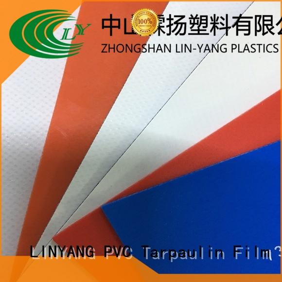waterproof pvc tarpaulin pvc supplier for geotextile
