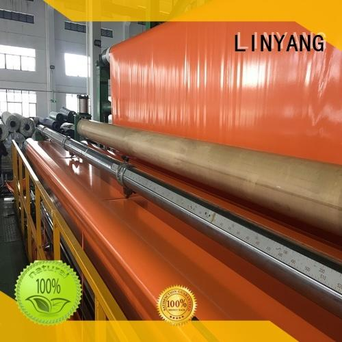 LINYANG custom pvc coated tarpaulin one-stop services for wholesale