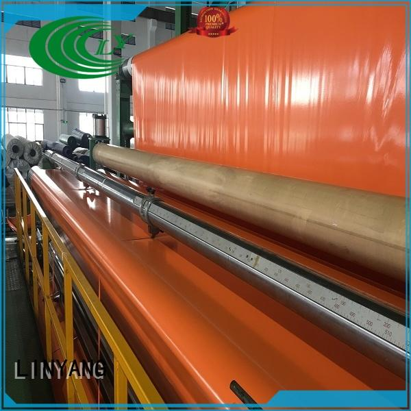LINYANG new pvc coated tarpaulin brand
