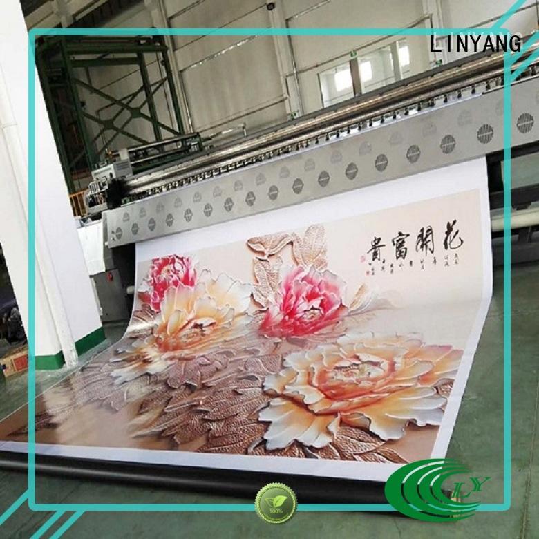 LINYANG flex banner manufacturer for importer