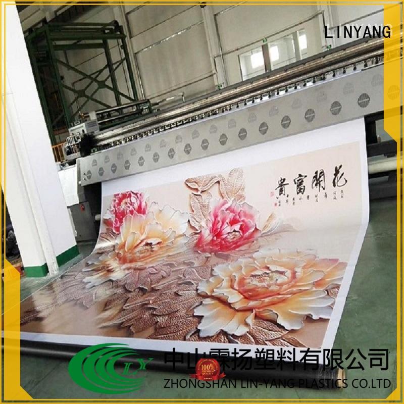 LINYANG flex banner factory for importer