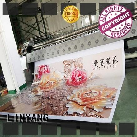 LINYANG custom pvc banner factory for outdoor