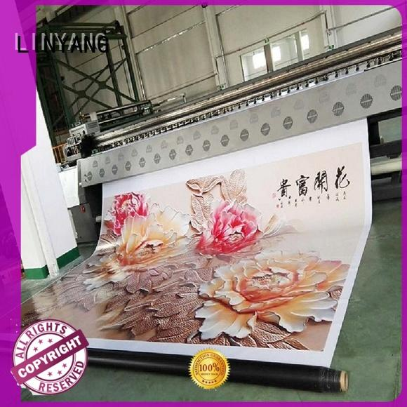 LINYANG high quality pvc flex banner for outdoor