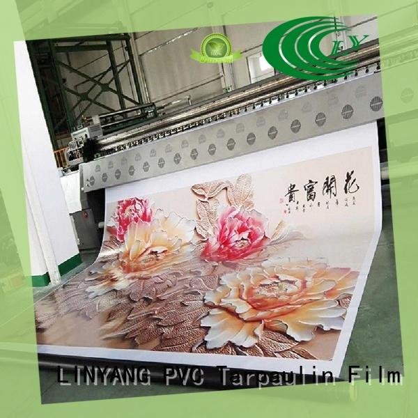 LINYANG pvc banner supplier for advertise