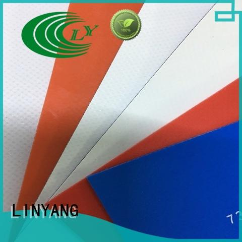 LINYANG best heavy duty tarpaulin series for advertising banner