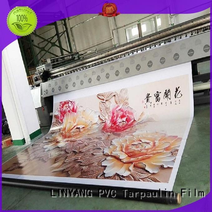 LINYANG flex banner factory for outdoor