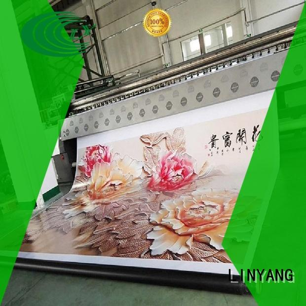 LINYANG new pvc banner manufacturer for advertise