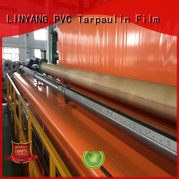 LINYANG custom pvc coated tarpaulin one-stop services