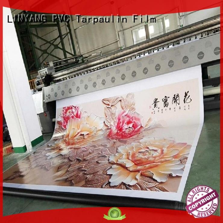 pvc banner manufacturer for outdoor LINYANG
